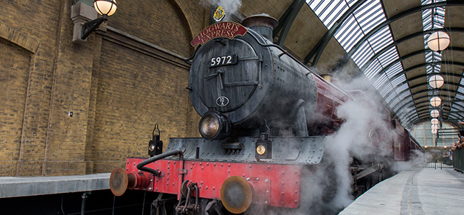 Hogwarts Express at Universal Studios Florida