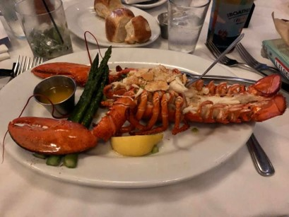 Lobster at The BOATHOUSE, Disney Springs | Disney With Kerry