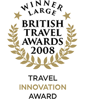 British Travel Awards 2008 Winner Travel Innovation Award