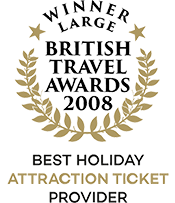 British Travel Awards 2008 Winner Best Holiday Attraction Ticket Provider