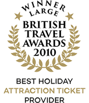 British Travel Awards 2010 Winner Best Holiday Attraction Ticket Provider