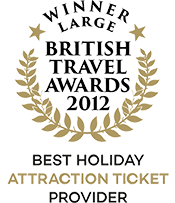British Travel Awards 2012 Winner Best Holiday Attraction Ticket Provider