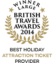 British Travel Awards 2014 Winner Best Attraction Ticket Provider