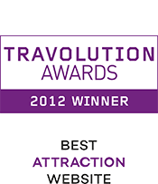 Travolution Awards 2012 Winner Best Attraction Website