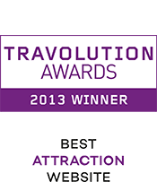 Travolution Awards 2013 Winner Best Attraction Website
