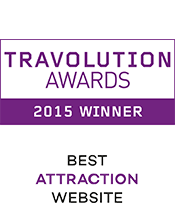 Travolution Awards 2015 Winner Best Attraction Website