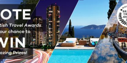 VOTE In The British Travel Awards  For Your Chance To WIN Amazing Prizes