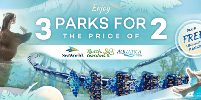3 Amazing SeaWorld Parks for the Price of 2
