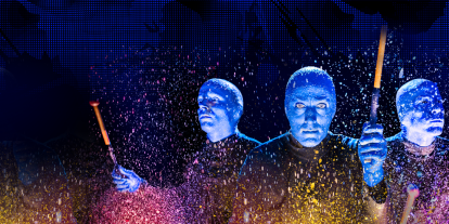 See the show that has wowed over 35 million people world-wide Blue Man Group at Universal Orlando Resort™