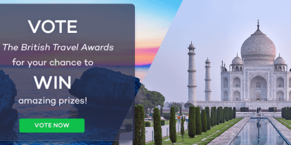 Vote In The British Travel Awards 2019