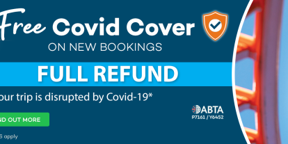 Free COVID Cover on new bookings