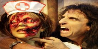 Alice Cooper Goes To Hell in 3D at HHN 2012!