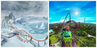 SeaWorld and Busch Gardens Unveil TWO New Coasters