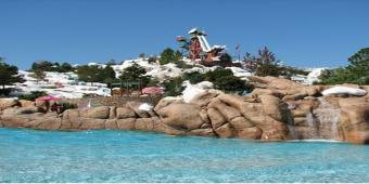 The World's Largest Swimming Lesson at Disney's Blizzard Beach!