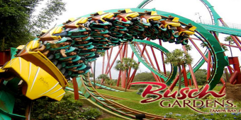 Spring-Breakers at Busch Gardens