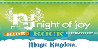 Magic Kingdom's Night of Joy at Disney World!