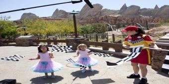 Sophia Grace and Rosie Explore Cars Land