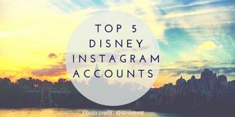 5 Disney fan Instagram accounts you should be following!