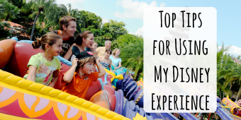 Top tips for Using My Disney Experience
