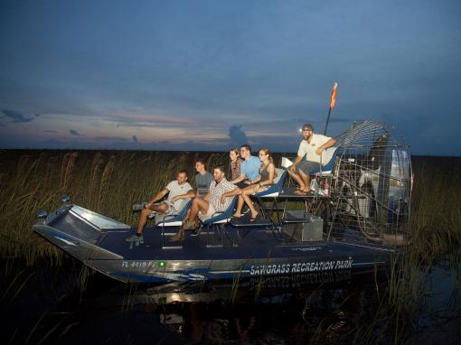 Red Eye Exclusive Night-time Airboat Adventure