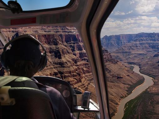 Grand Canyon West Overnight Cabin Stay by Helicopter