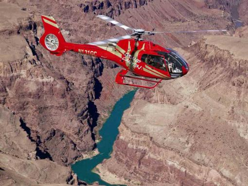 A Grand Celebration Helicopter Tour of the Grand Canyon