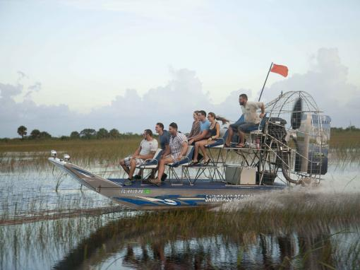 Private 60-minute Florida Airboat Adventure