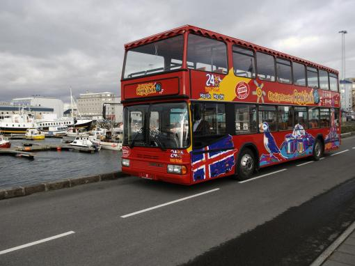 Reykjavik 24 Hour Hop On, Hop Off Bus Tour