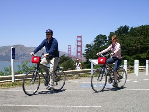 Guided Bike Tour - Bike the Bay over the Golden Gate Bridge to Sausalito