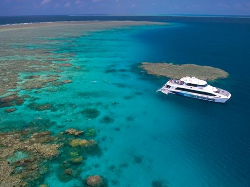 Silversonic Outer Barrier Reef Snorkelling and Diving Adventure from Cairns