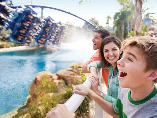 SeaWorld Parks 3 for 2 Ticket