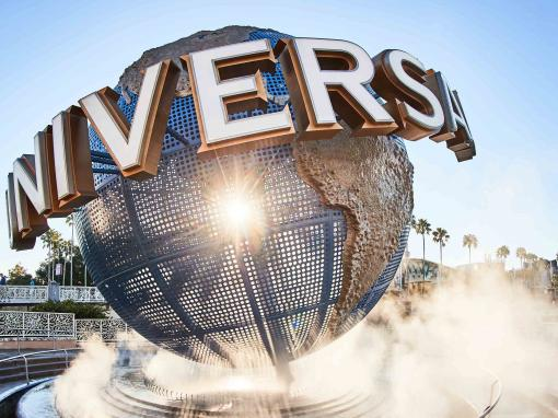 Universal Globe at Universal Orlando Resort