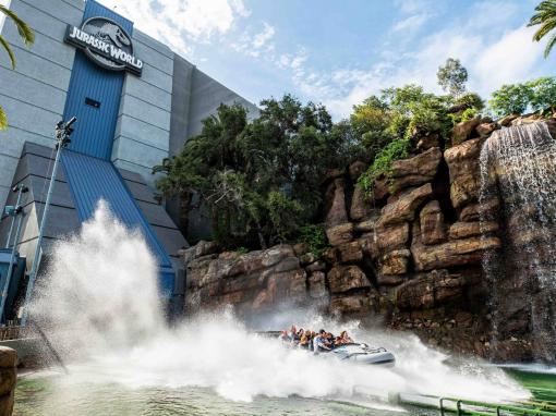 Jurassic World - The Ride at Universal Studios Hollywood