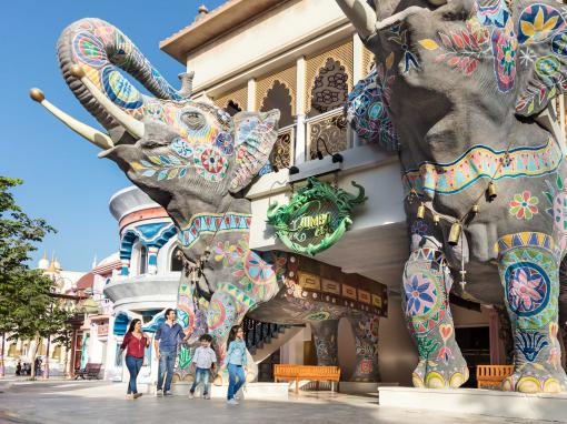 Jumbo Cafe at Bollywood Parks Dubai