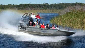 Airboat Ride With Transportation Attractiontickets Com